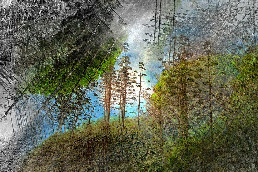 Abstrakte natur II