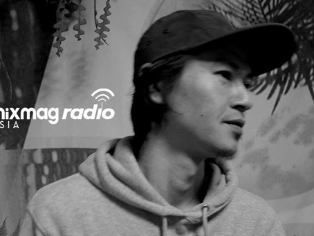 DJ GROUND'S PODCAST for Mixmag asia