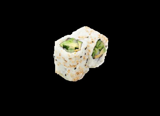 California roll légumes marinés