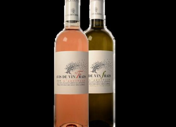 Avis de vin frais