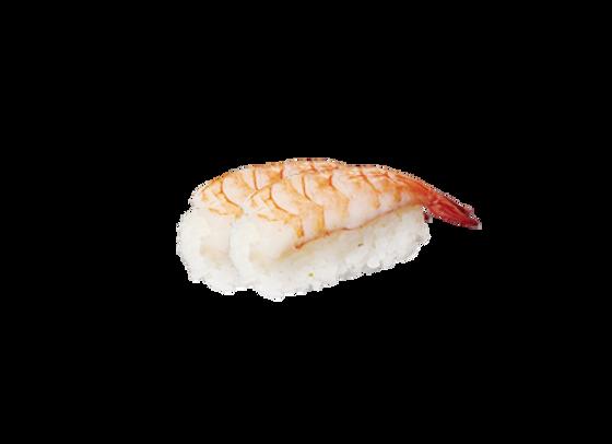 Nigiri sushi crevette