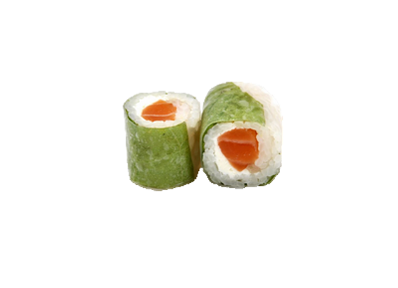 Spring roll saumon cheese