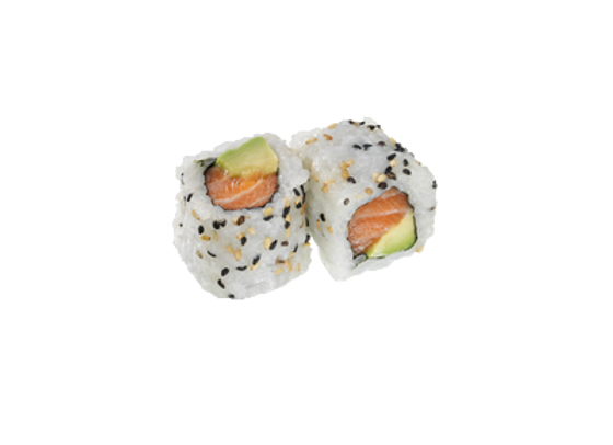 California roll saumon