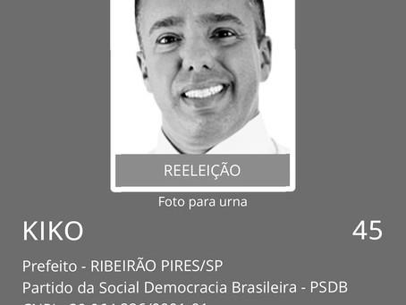 Kiko Teixeira tem candidatura indeferida.