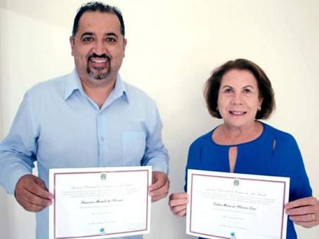 Marcelo Oliveira é diplomado prefeito de Mauá.