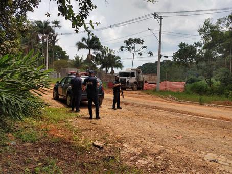 GCM de Mauá deflagra ação ilegal em área de proteção ambiental
