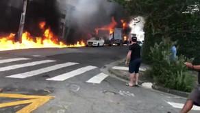 Uma aeronave caiu na tarde desta sexta-feira (30) na região de Santana, Zona Norte de São Paulo.
