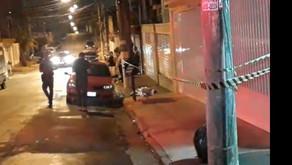 Morador em situação de rua assassinado agora em Santo André.