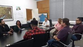 Prefeitura Rio Grande da Serra reúne representantes culturais da Cidade para definir projetos.