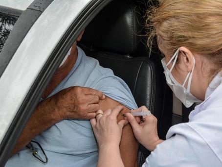 Mauá inicia a vacinação da 2ª dose em idosos entre 80 e 84 anos