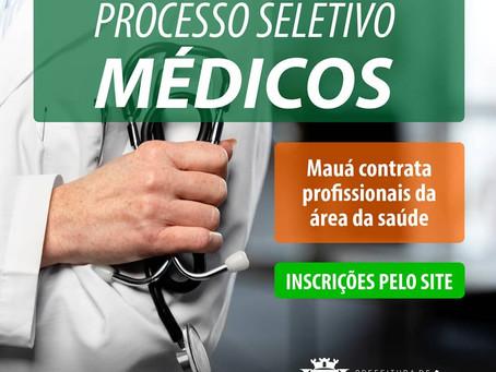 Mauá inicia nova etapa para contratação de médicos