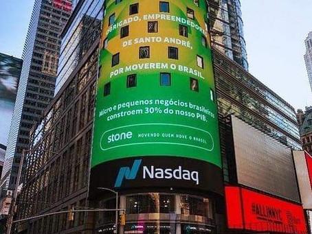 Santo André é homenageada  na Times Square, nos EUA.