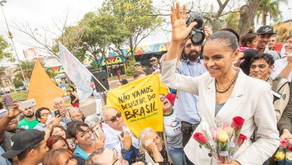 Candidata a Presidência Marina Silva (rede) fez campanha em Mauá