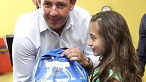 Rede Municipal de ensino em São Bernardo recebe 82 mil kits de uniforme.
