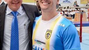 Diego Hypólito fez reclamação por falta de pagando da Prefeitura de São Bernardo.