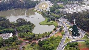 A árvore de Natal no Ibirapuera será inaugurada no Sábado (01) as 21 hs.