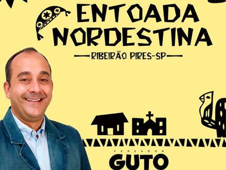 Vereador Guto Volpi de Ribeirão Pires aprova projeto da Entoada Nordestina.