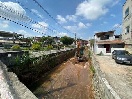 Intervenções na zeladoria da cidade de Mauá tem forte impacto no combate as enchentes  da cidade.