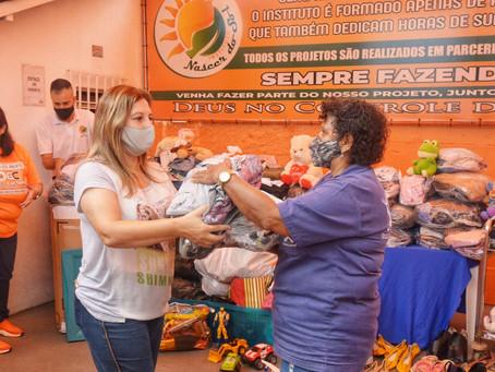 Lojas Solidárias de Santo André distribuem 30 mil itens para entidades sociais