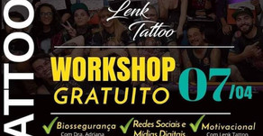 Ação Solidária no Estúdio Lenk Tattoo.