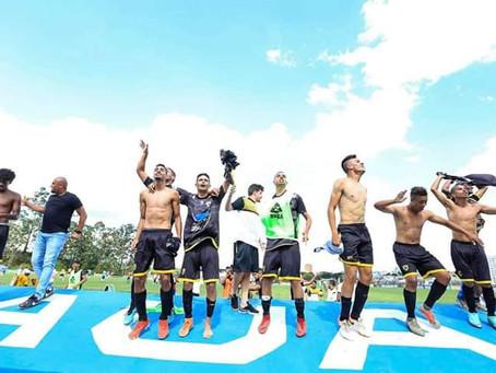 Mauá Futebol Clube venceu hoje à partida contra o Cena-MS, em mais um jogo da Copinha São Paulo .