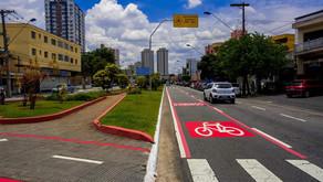 A Prefeitura de São Caetano do Sul vai inaugurar a primeira etapa da nova Ciclofaixa de Lazer