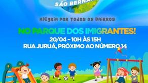 Giro São Bernardo no Parque dos Imigrantes.