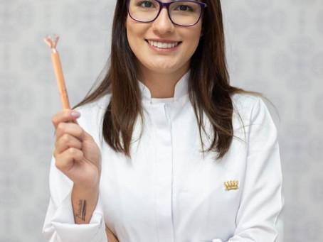 Gabriele, Micropigmentadora e Designer de Sobrancelhas já é uma das mais reconhecidas de SP.