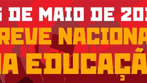 Greve Nacional da Educação Amanhã 15/05.