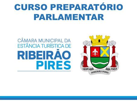 """A Câmara de Ribeirão Pires inova ao aplicar o """"I Curso Preparatório Parlamentar""""."""