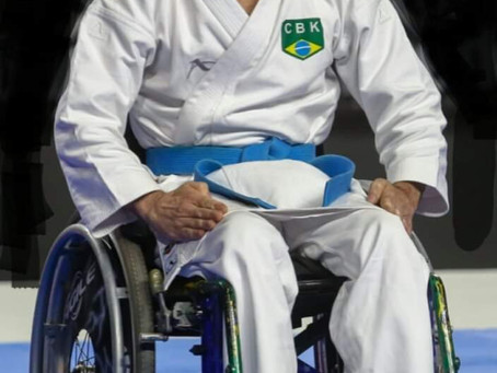 Atleta de Santo André, Jaime Ruiz, estará representando a cidade no Mundial de Karatê Paraolímpico.