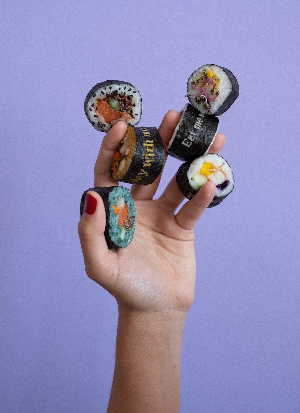 Nicole Vindel - Food Design & Art - Playful Nori