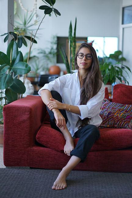 Nicole Vindel portrait by Cara Schanuel