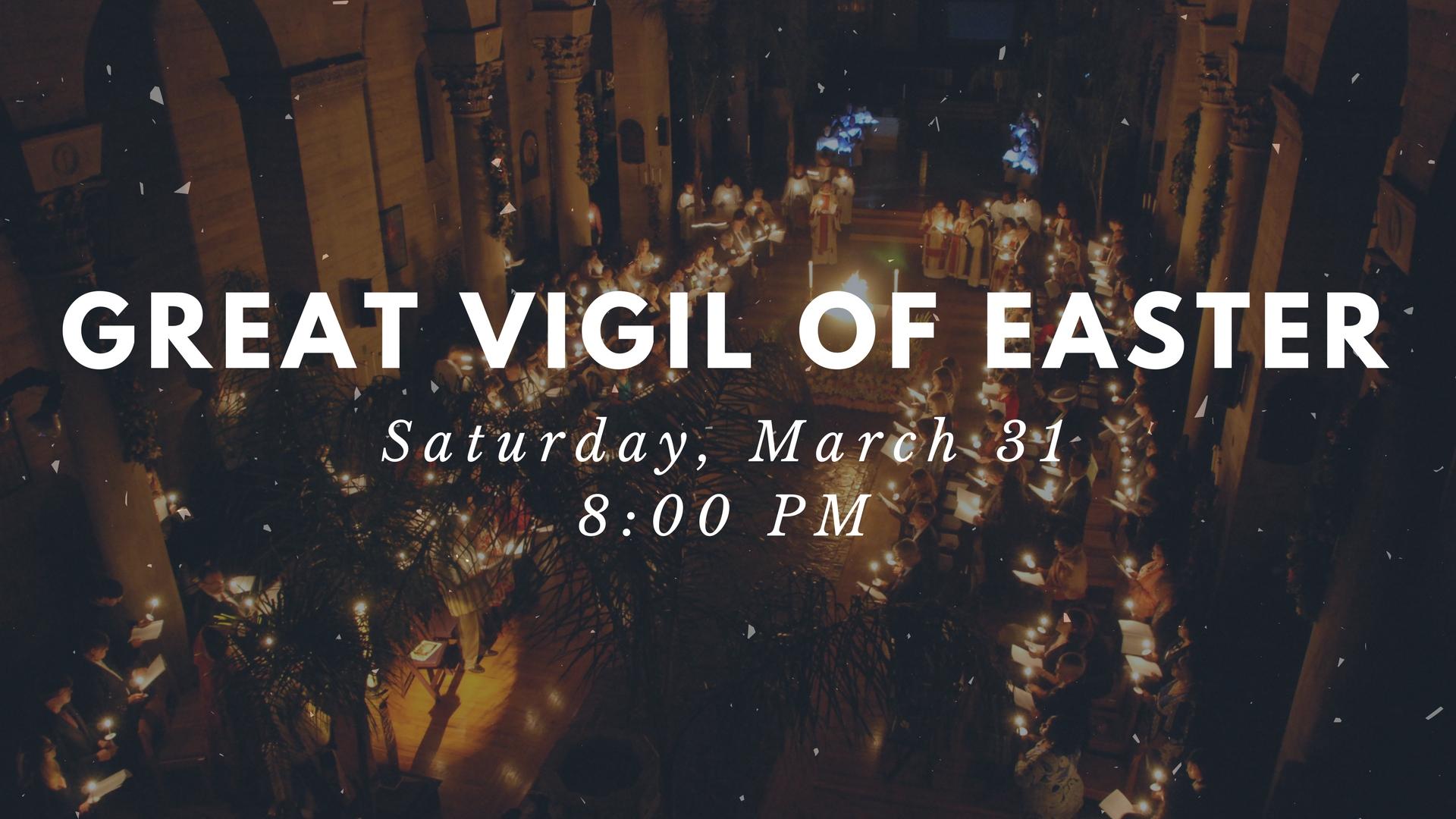 Great Vigil of Easter
