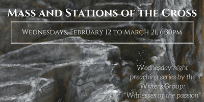 Mass and Stations of the Cross