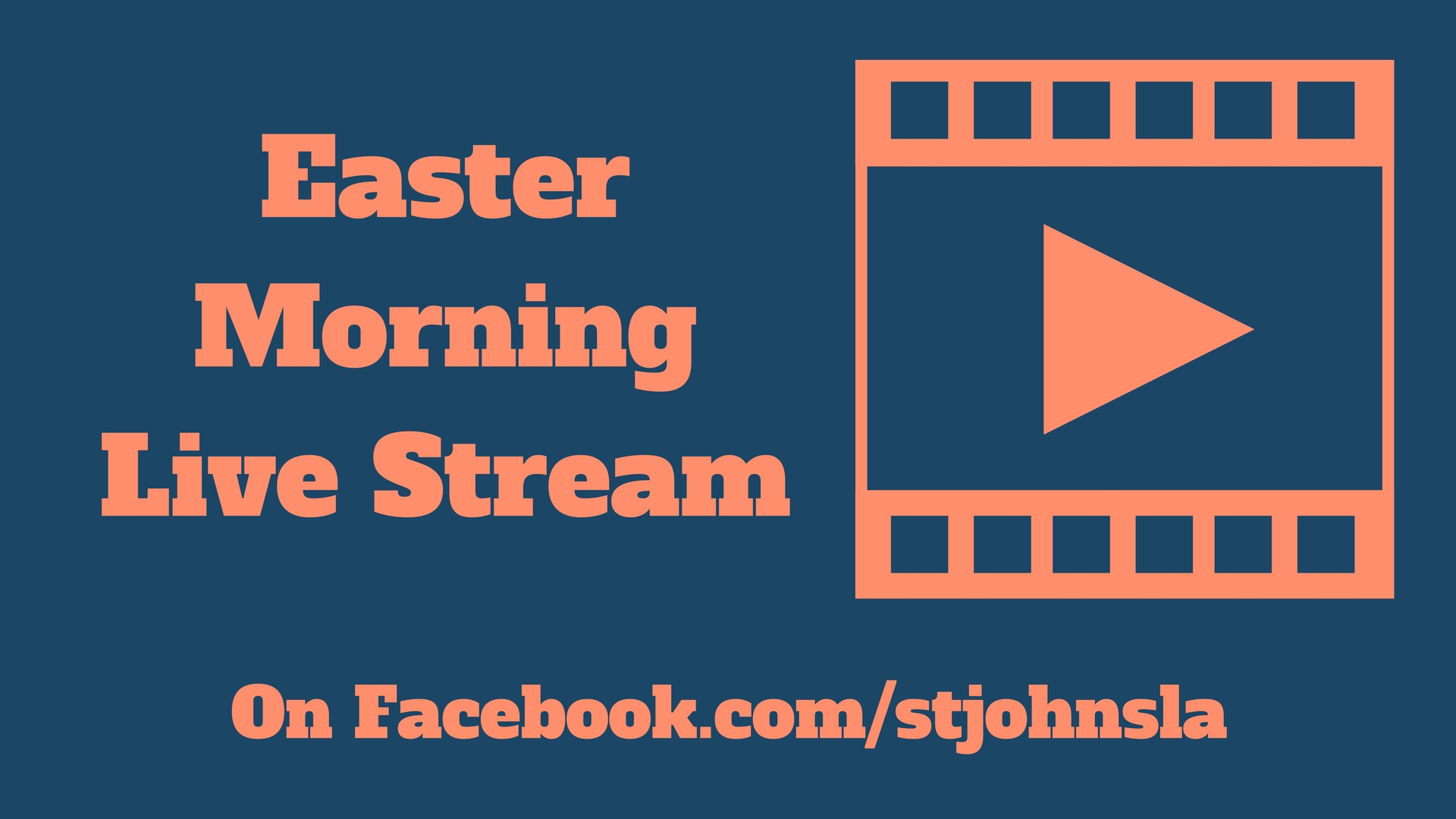 Easter Morning Live Stream for tv