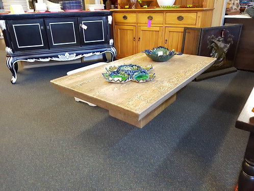 Exquisite marble coffee table