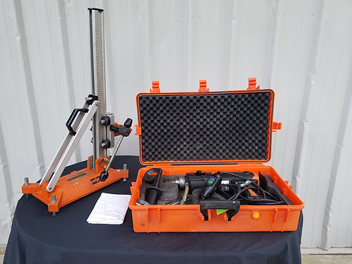 Core drill and rig