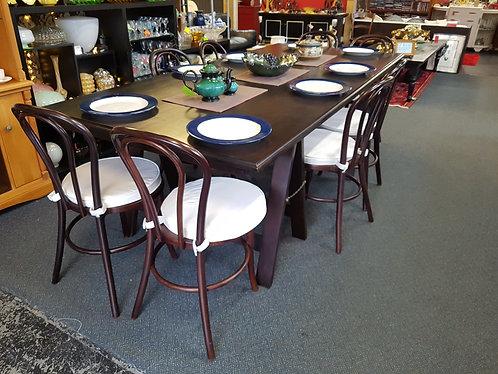 Gorgeous trestle table