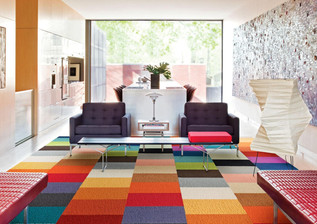 Mix It Up: Carpet Tiles in the Home