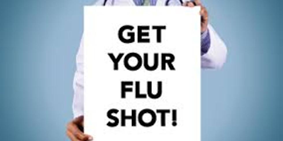 Merced County Health / BHW flu shot drive thru