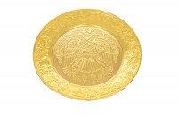 Δίσκος Αντιδώρου Σκαλιστός Β΄ Επίχρυσος Κ(129-04)
