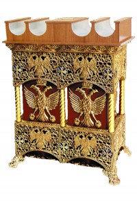 Παγκάρι 2 Καμάρες & Κηροθήκη Πατίνα (Κ208-10)