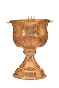 Κολυμβήθρα Βαπτίσεως Χάλκινη Γάνωμα (Κ155-04)
