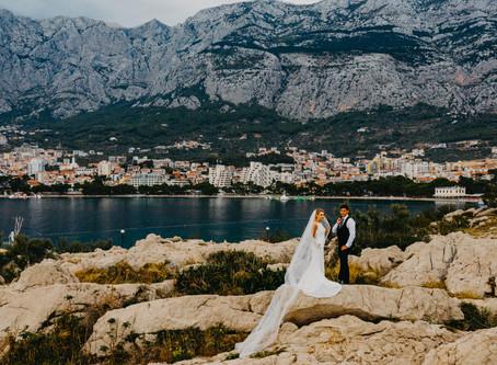 Makarska - sesja ślubna
