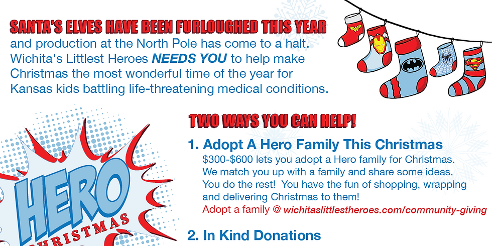 Hope for Heroes Christmas Deliveries