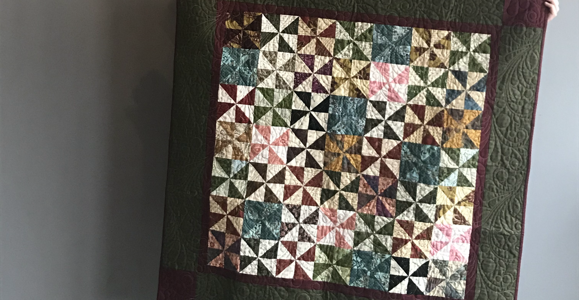 Handmade Table Quilt