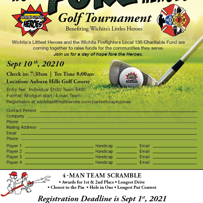 Hope FORE Heroes Golf Tournament