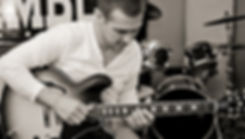 Nick Norman at the Ramble Room Recording Studio in Key West florida