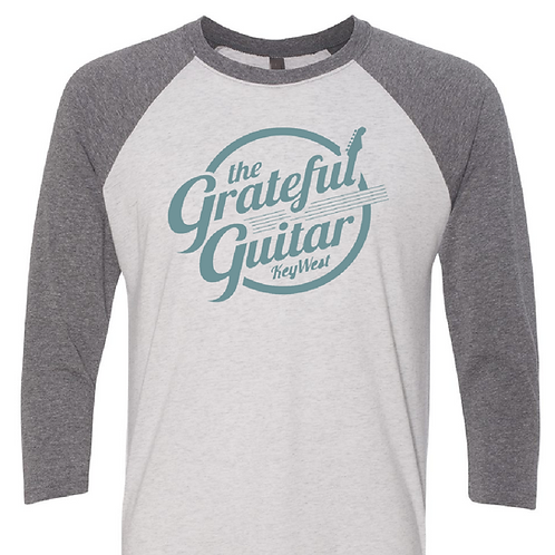 GG 3/4 Sleeve [Gray/Teal]